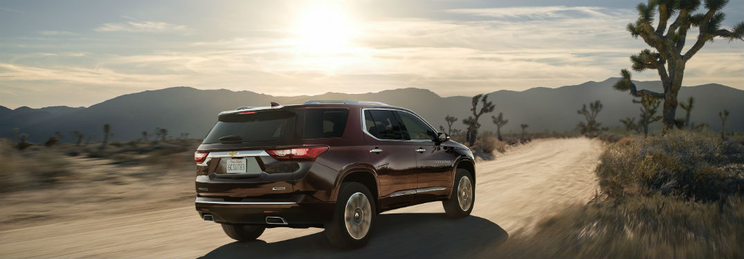 2018 Chevrolet Traverse Comfort and Convenience Features_o