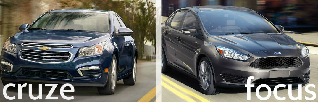 chevrolet cruze vs ford focus