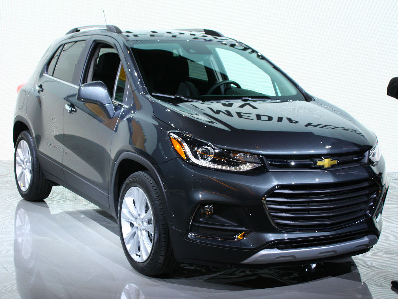 2017 Chevy Trax at the Chicago Auto Show