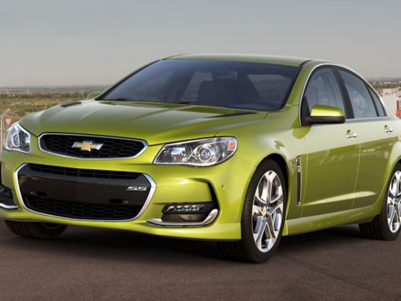 2016 Chevy SS color options
