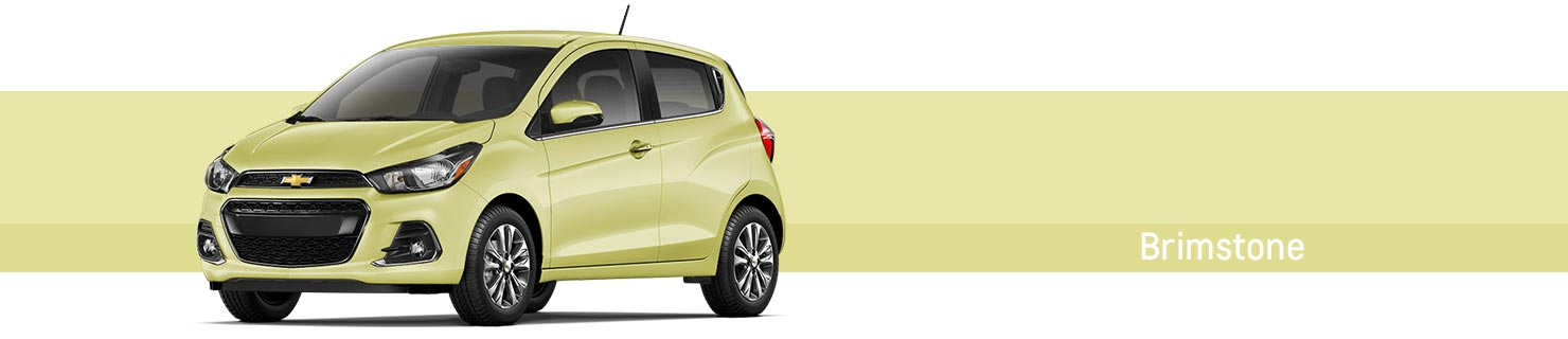What Colors Are Available For The 2017 Chevy Spark
