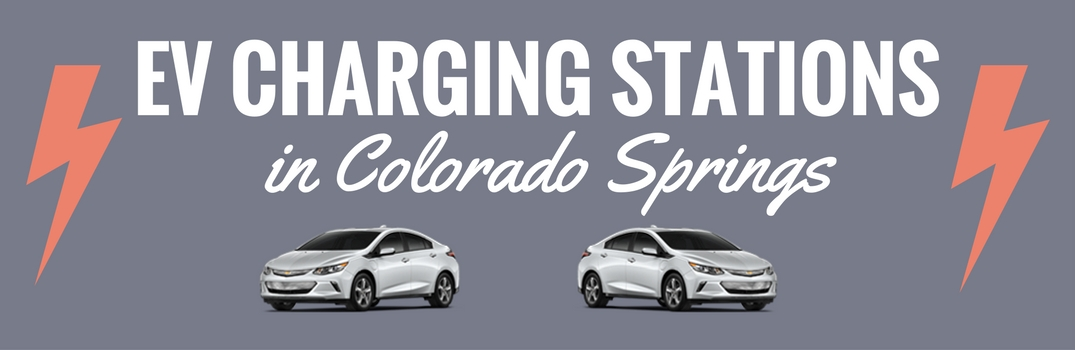 EV Charging Stations Around Colorado Springs, CO