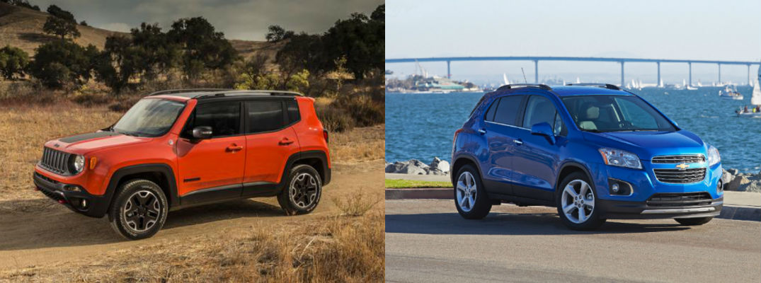 2015 jeep renegade vs 2015 chevy trax at jackson cars jackson family. Black Bedroom Furniture Sets. Home Design Ideas