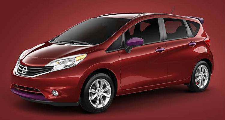 Nissan Color Studio 2016 Nissan Versa Note