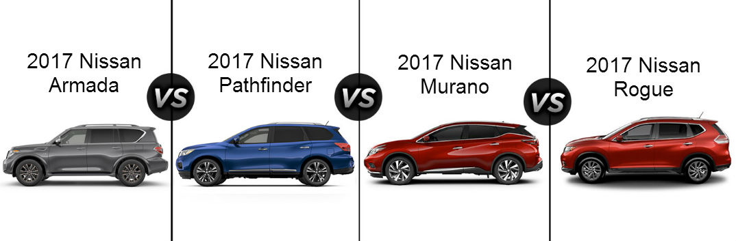 Nissan Pathfinder Vs Nissan Murano Suv Comparison