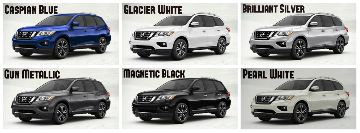 2017 Nissan Pathfinder Exterior Paint Options And Interior
