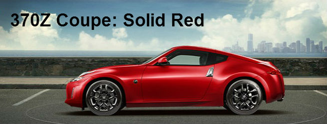 2017 nissan 370z coupe and roadster exterior paint color choices. Black Bedroom Furniture Sets. Home Design Ideas