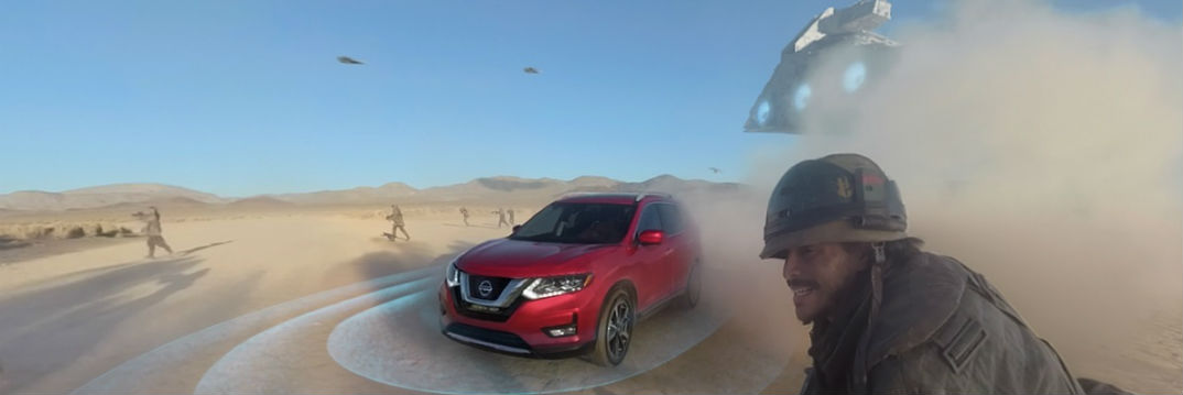 2017 Nissan Rogue One A Star Wars Story 360-degree VR experience