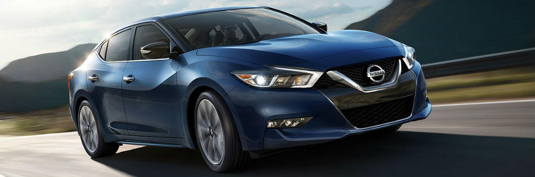 2017 Nissan Maxima paint color and fabrics exterior and interior