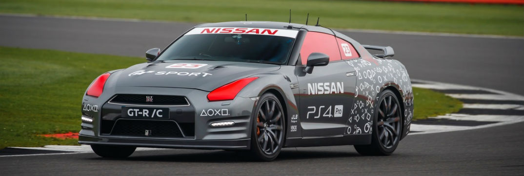 Nissan GT-R /C concept sports car vehicle for Gran Turismo video game release