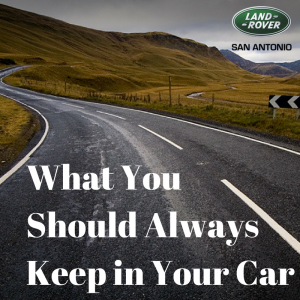 What You Always Should Keep in Your Car