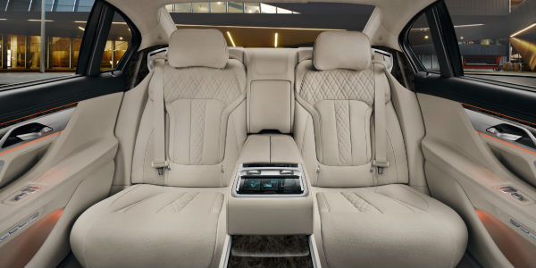 Beautiful 2017 BMW 7 Series Executive Lounge Seating