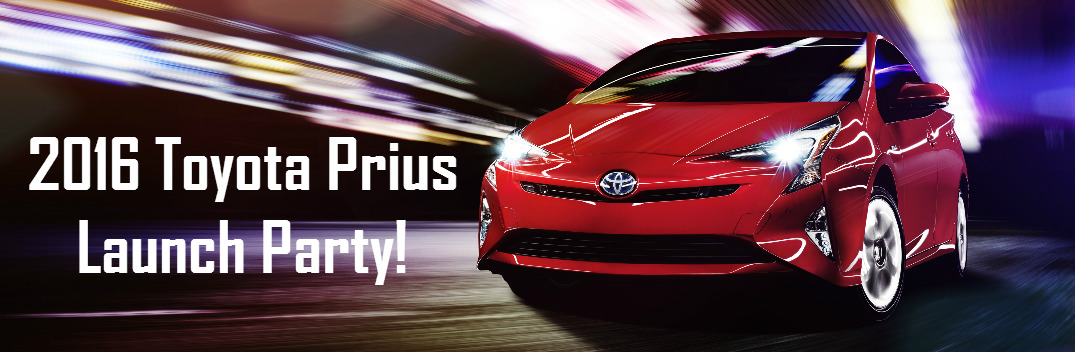 Come Celebrate the Launch of the Toyota Prius at Northridge Toyota!