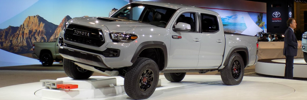 What is the release date of the 2017 Toyota TRD Pro?