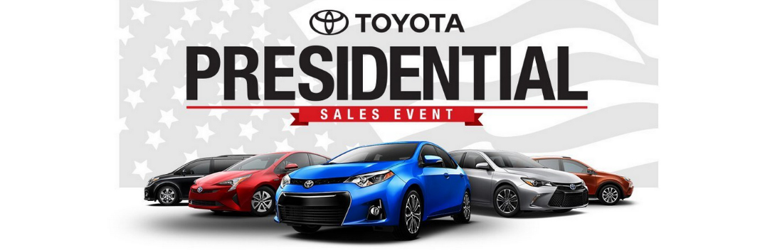 Fantastic Deals on New Models at the Northridge Toyota Presidential Sales Event