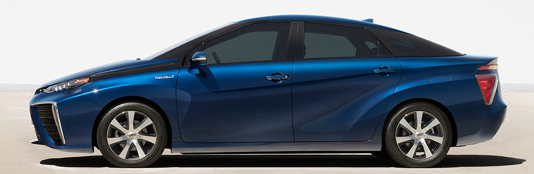 Be a Part of Automotive History with the Zero Emissions 2017 Toyota Mirai