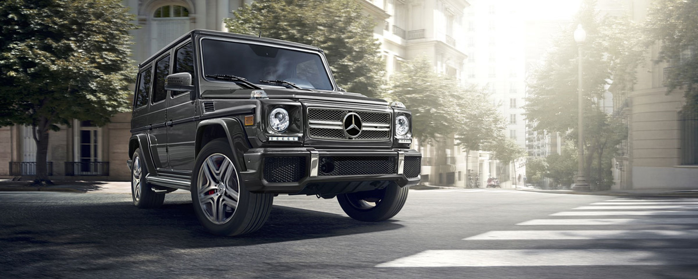 learning the difference: mercedes-benz's g-class models - baker