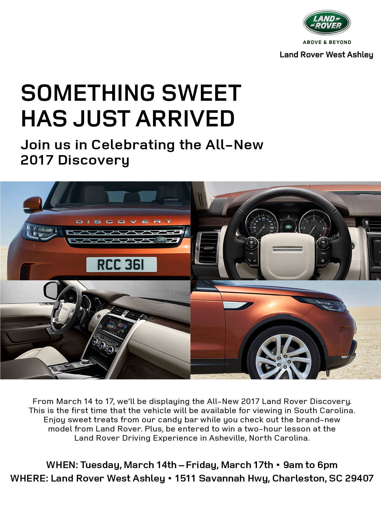 Something sweet has just arrived at land rover west ashley for Baker motor company land rover