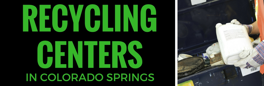 Recycling Centers in Colorado Springs CO