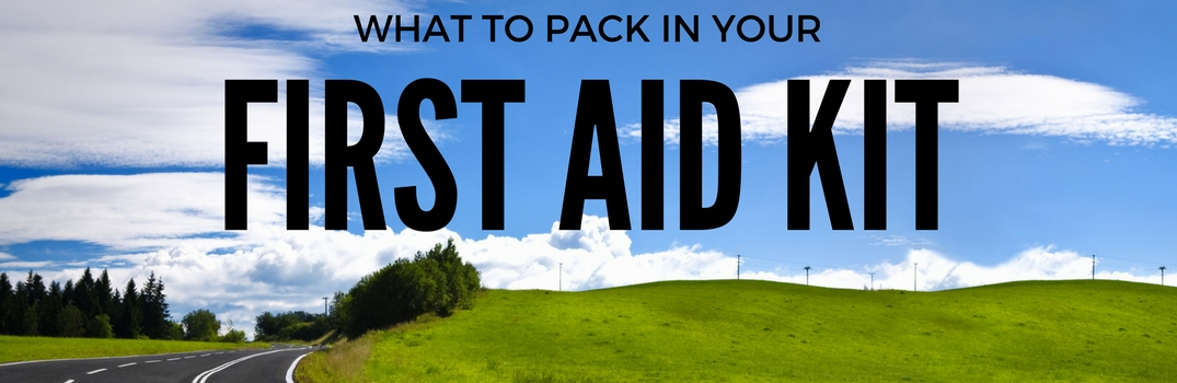 What to Pack in Your Car's First Aid Kit
