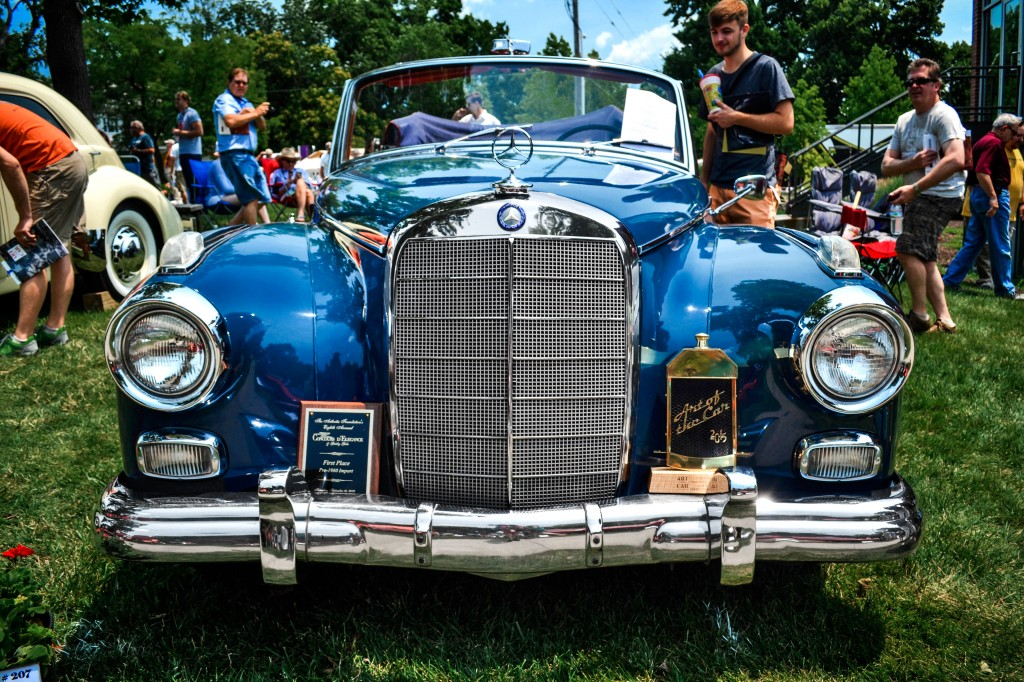 Art of the car concours mercedes benz kansas city for Mercedes benz of kansas city aristocrat