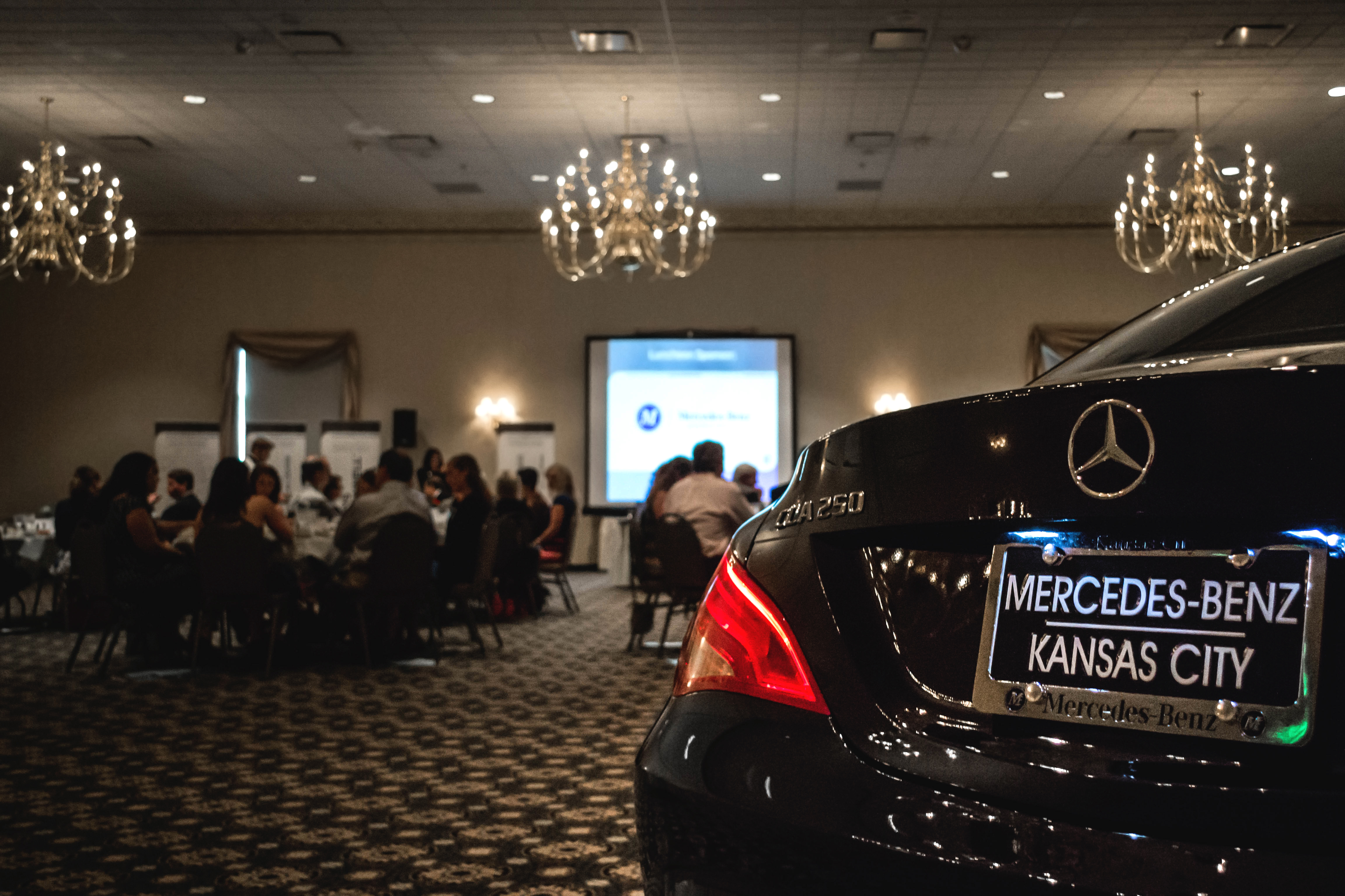 leawood chamber of commerce luncheon mercedes benz kansas city. Black Bedroom Furniture Sets. Home Design Ideas