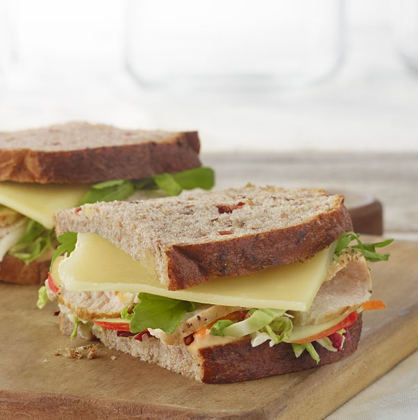 Turkey Apple Cheddar Sandwich Recipe: Lunch Options At Aristocrat Motors