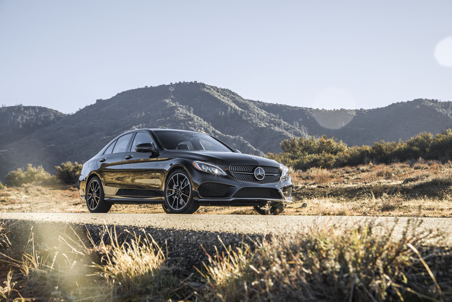 The mercedes c class gives you plenty of options for Mercedes benz kansas city