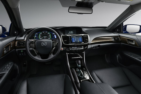 The Three Operations Include: 2017 Honda Accord Hybrid Upgraded Interior
