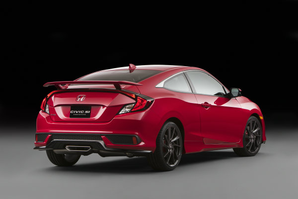 2017 Honda Civic Si Prototype Redesigned Rear End