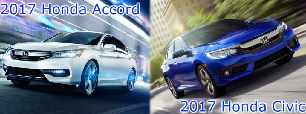 2017 honda accord vs 2017 honda civic. Black Bedroom Furniture Sets. Home Design Ideas