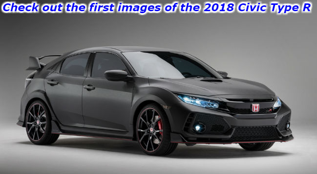 check out the first images of the 2018 civic type r
