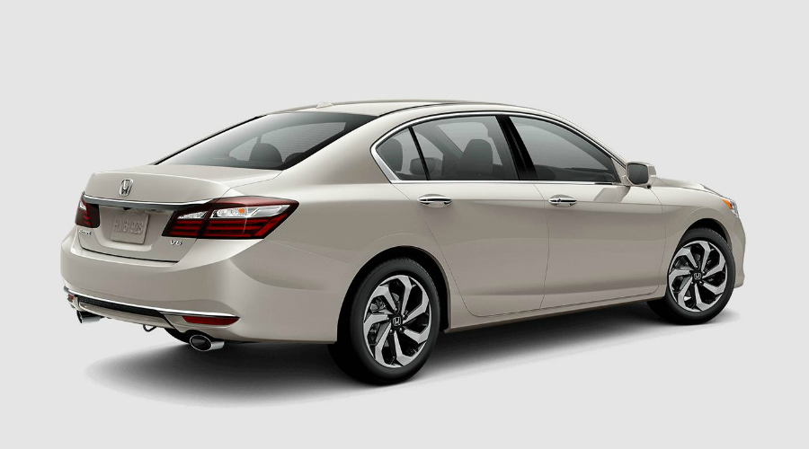Honda accord 2017 colors
