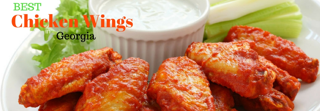 Where are the Best Chicken Wings in Georgia