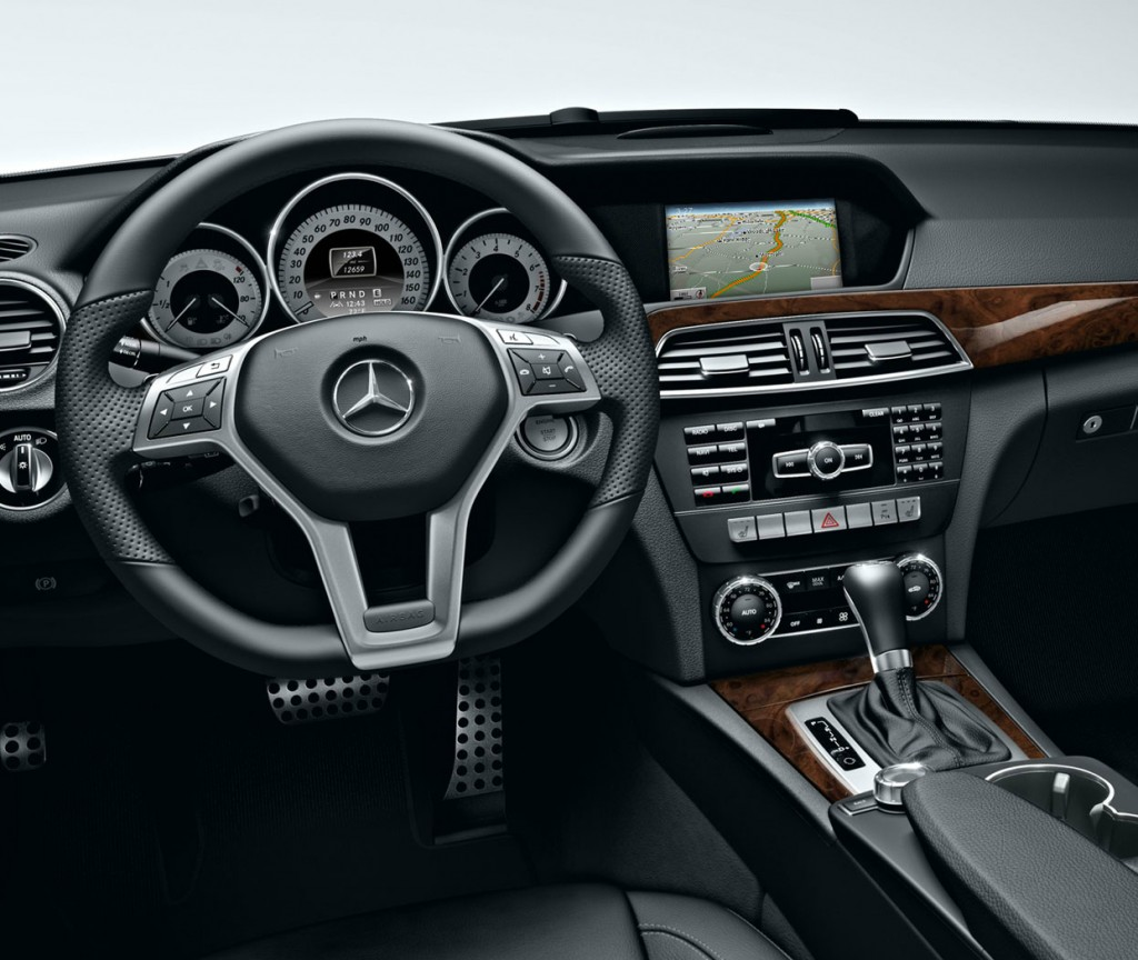2015 c class gets high performance amg variant mercedes benz of north haven for Mercedes c class 2015 interior