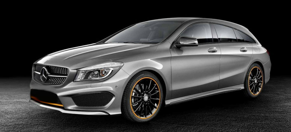 Mercedes unveils hatchback version of cla class overseas for Mercedes benz of north haven ct