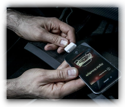 Stay connected at all times with drive kit plus for iphone for Mercedes benz connect iphone