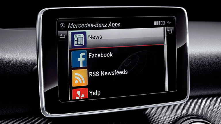 2016 models with mercedes benz mbrace for Mbrace mercedes benz