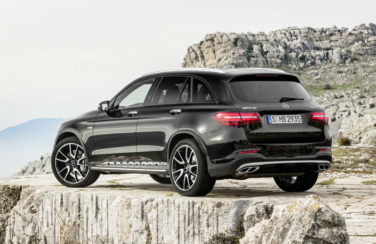 2017 mercedes benz glc crossover suv model lineup and for Mercedes benz suv models