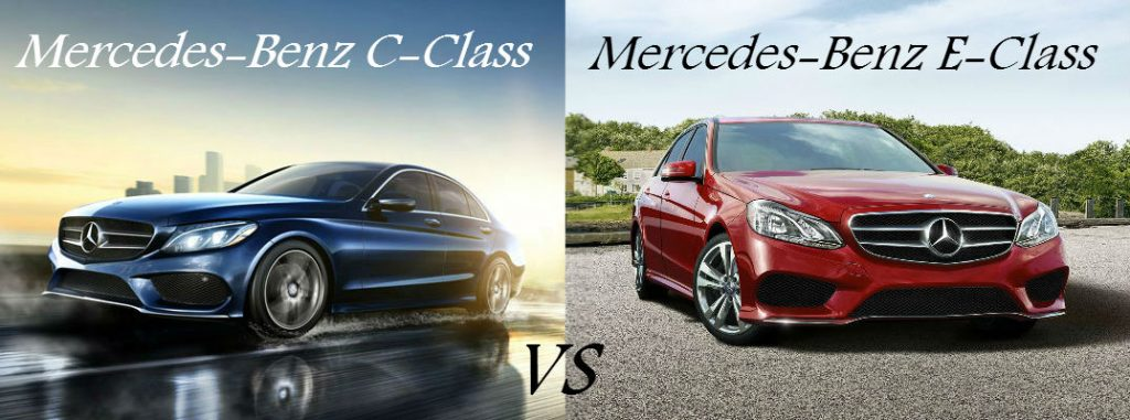 2016 mercedes benz c class vs 2016 mercedes benz e class for Mercedes benz training and education