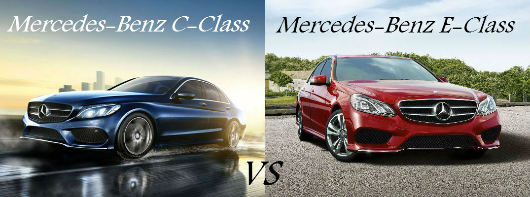 2016 mercedes benz c class vs 2016 mercedes benz e class. Black Bedroom Furniture Sets. Home Design Ideas