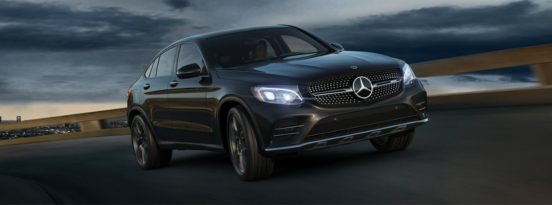 2018 Mercedes-AMG GLC 43 Coupe features and performance specs