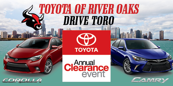 Toyota Annual Clearance Event For Chicagoland