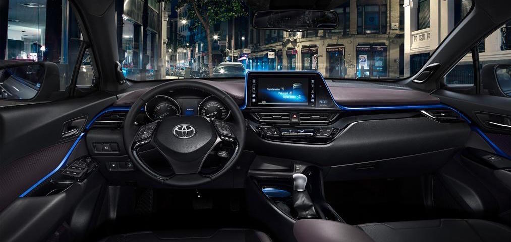 Toyota ch r 2016 2017 2018 best cars reviews for Interieur toyota chr