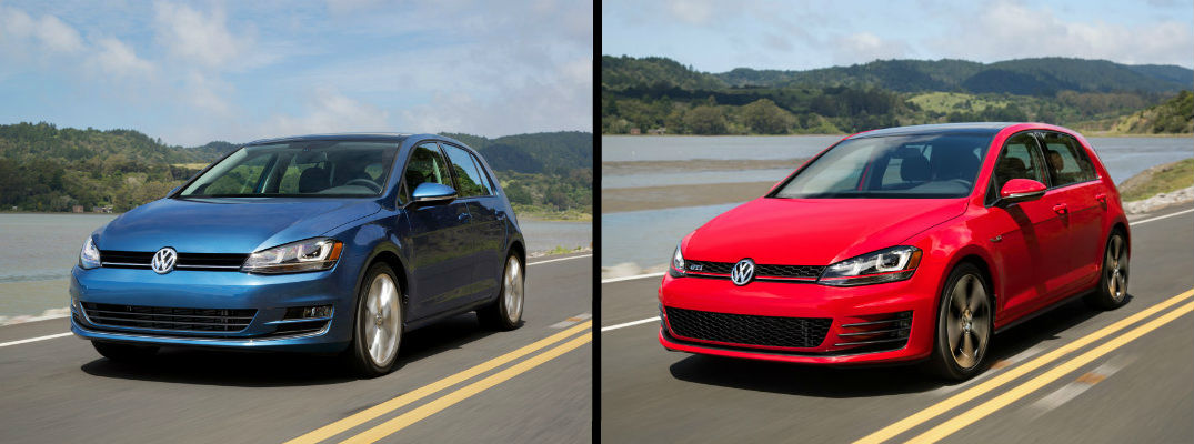 Find Out How the Volkswagen Golf and Golf GTI Are Different