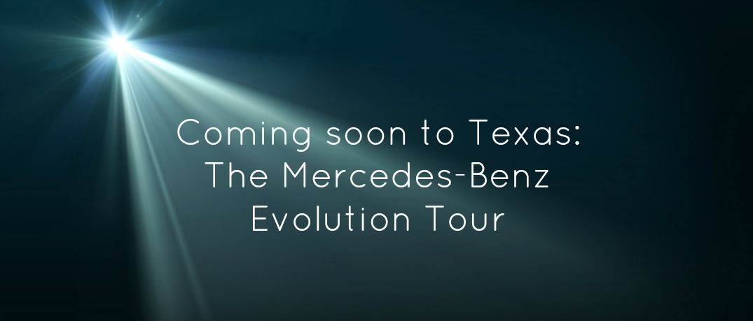 Mercedes benz evolution tour tickets in austin tx for Mercedes benz tickets