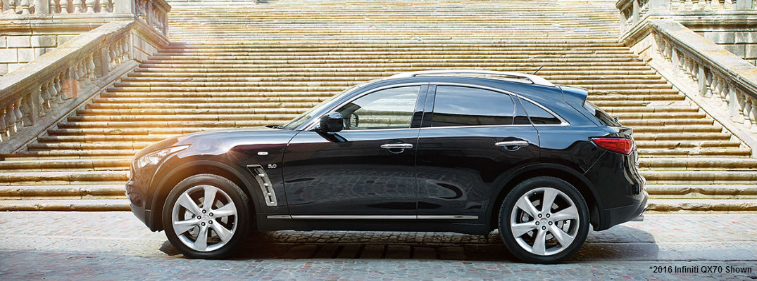 New Infiniti QX70 Limited Makes Debut with New Technology Features