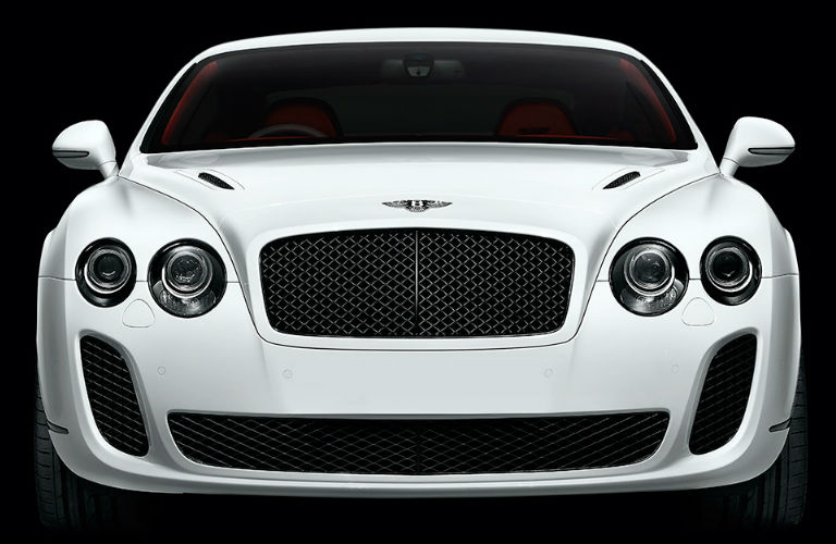 Used Bentley Continental in white