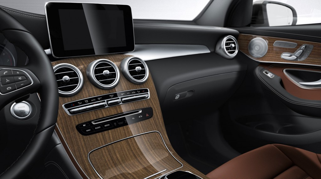 2016 Mercedes-Benz GLC COMAND Navigation System