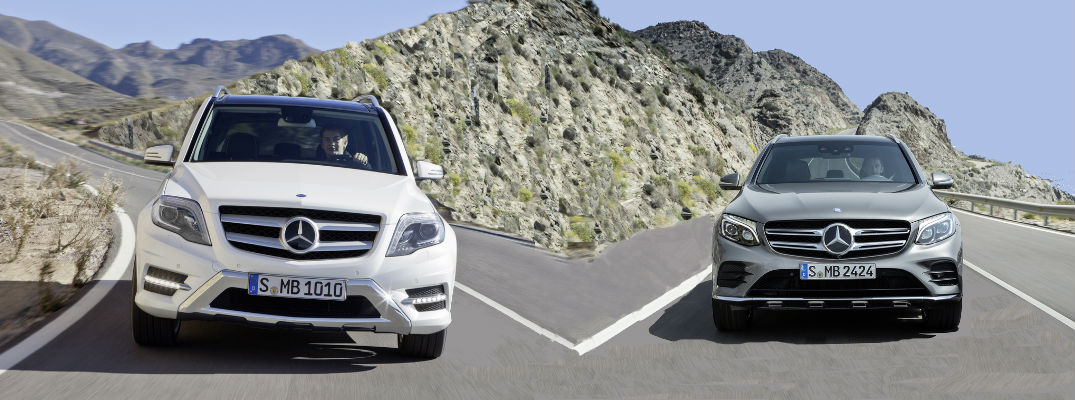 What is the difference between the MercedesBenz GLC and the GLK